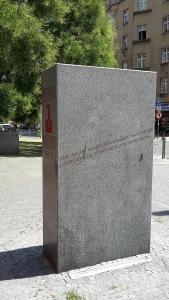 Das R. M. Rilke Denkmal in Prag © Wolfgang Schiffer