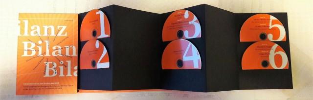 Gestalterisch eine Besonderheit: ein Hörbuch als Faltbuch